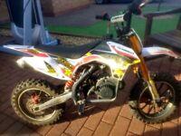 Motocrosser 50cc 2 stroke
