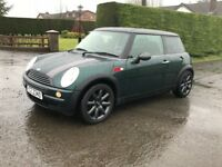 Attractive looking 2002 Mini One 1.6 hatch.trade in considered, credit cards accepted