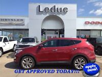 2013 HYUNDAI SANTA FE 2.0T - CLEAN 1 OWNER TRADE and APPROVED!