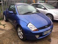Ford Streetka 1.6 Luxury 2dr£945 p/x welcome LONG MOT, GOOD RUNNER