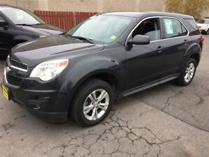 2012 Chevrolet Equinox LS, Automatic, Bluetooth, Only 66,000km
