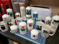 Personalized candles and mugs