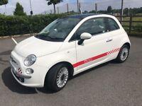 FIAT 500 1.2 LOUNGE *ITALIAN EDITION* PANORAMIC SUNROOF £30 TAX ( SEE PHOTOS)