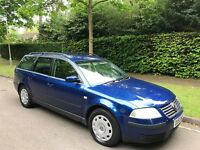 VW Passat Estate 03, 1.9 TDI PD S 5dr, 12months MOT, Great Car..