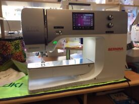Brand New Bernina 770QE Sewing/Embroidery machine. Full warranty, free days training.