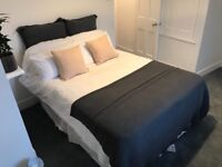 Double bed base and mattress £50