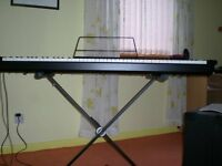 TECHNICS SXP30 ELECTRIC PIANO PLUS KB/A 60 KEYBOARD ACOUSTIC AMPLIFIER & STAND