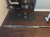 Assorted Olympic Weight Bars - SOLD PENDING COLLECTION