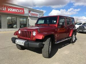 2012 Jeep WRANGLER UNLIMITED Sahara | Leather Upholstery | Air C