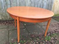 Mid century dining table £70