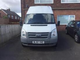 Late 2010 Ford Transit MWB High Roof Van