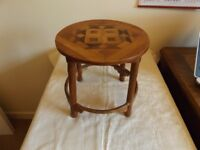 ANTIQUE TRIBAL STOOL POSSIBLY AFRICAN / ASIAN DESCENT