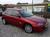 05 REG ROVER 25 1.4 LOW MILES 65K FULL LEATHERS PX - WELCOME