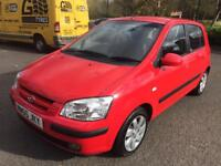 HYUNDAI GETZ ** LONG MOT LOW MILEAGE **