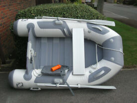 Inflatable Dinghy Zodiac Cadet 200 - slatted floor – unused.