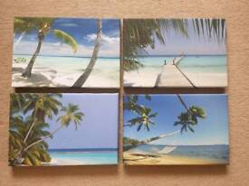 4x Wall Canvasses