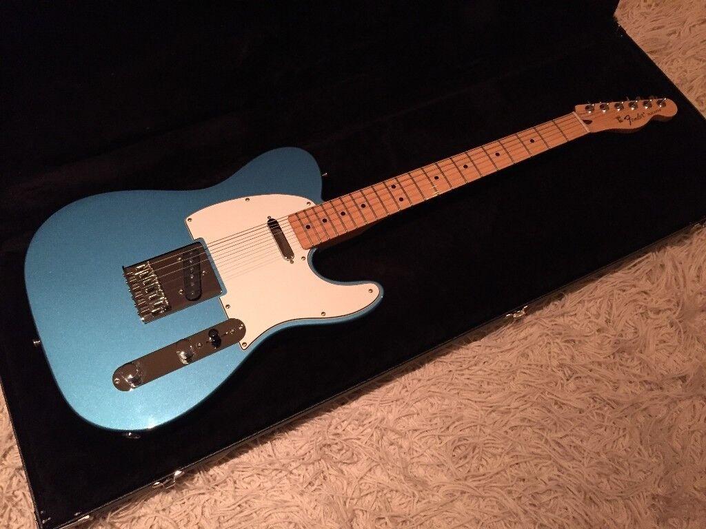 Fender telecaster 2016 lake placid blue mim perfect condition fender telecaster 2016 lake placid blue mim perfect condition publicscrutiny Gallery