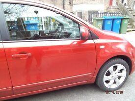 2010 (60) Nissan Note, 1.598CC 5DR, N Tec Auto