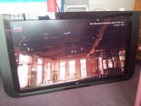 40 Inch Wall TV - Used Condition - No remote - Collection only