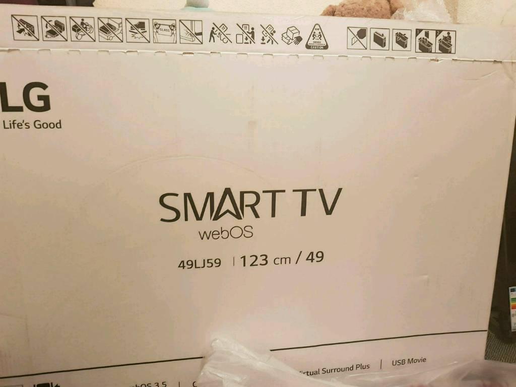Lg 49 inch smart tv