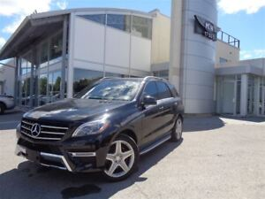 2015 Mercedes-Benz M-Class ML350 BlueTEC 4MATIC, AMG, FULLY LOAD