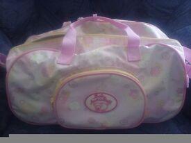 Baby Annabell bag on wheels fab