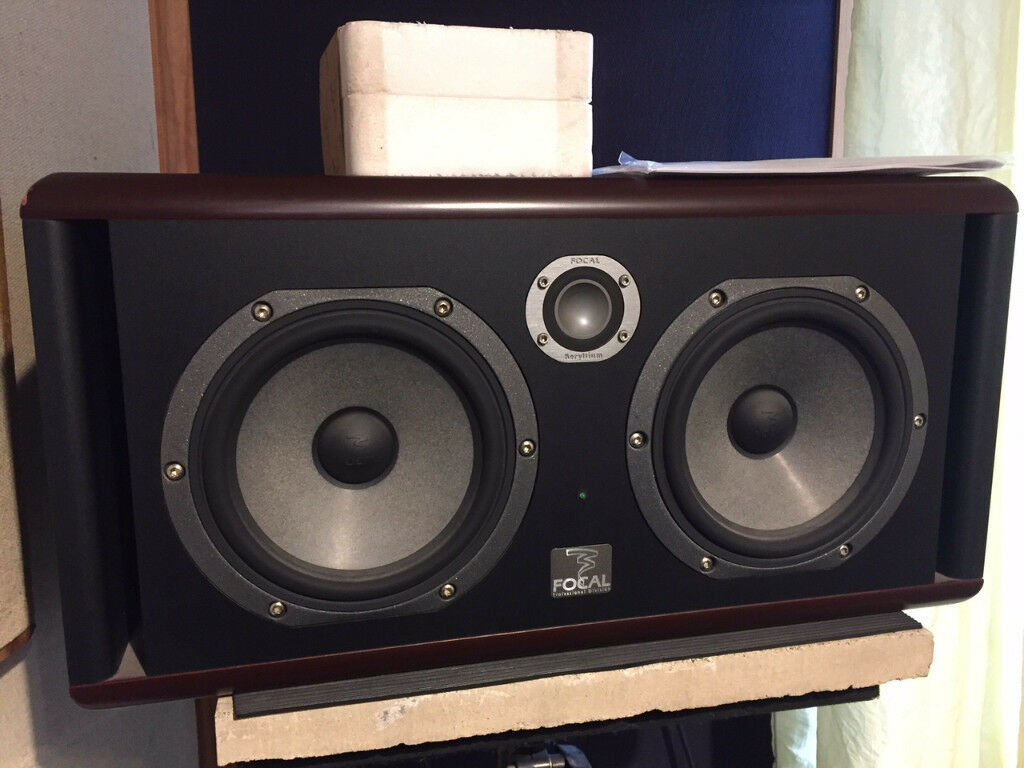 2 x focal twin 6 be 3 way active studio monitors pair immaculate in sittingbourne kent. Black Bedroom Furniture Sets. Home Design Ideas