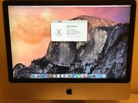 For sale: 24inch iMac 2008 4GB RAM , 320gb HDD, £250 ono