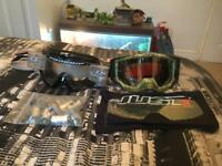 Motocross/skiing goggles