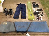 Snowboard & Kit