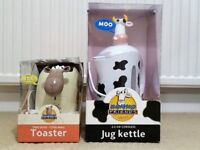 Novelty Toaster and Kettle