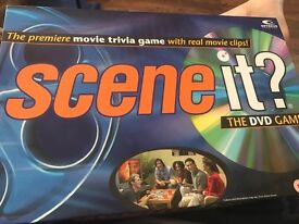 Scene it? Board Game - the premier movie trivia game with real movie clips - the DVD game