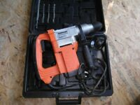 Silverline SDS hammer drill - 1500w with bits, chisel and 117mm diamond core drill