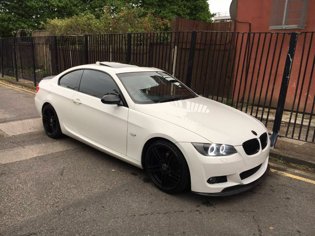 2008 58 bmw 320i m sport e92 coupe alpine white light damaged salvage repairable fully loaded. Black Bedroom Furniture Sets. Home Design Ideas
