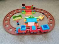 Happyland train track