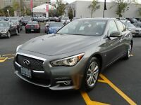 2015 Infiniti Q50 3.7 Navigation, Deluxe Touring, Technology Pac