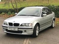 2003 BMW 318I SE 4 DOOR SALOON Full SERVICE from BMW MOT :30/08/17