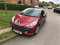 Peugeot 207cc, 30,000 miles, 2 owners.
