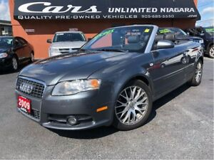 2009 Audi A4 2.0T     S-LINE   AWD   NO ACCIDENTS