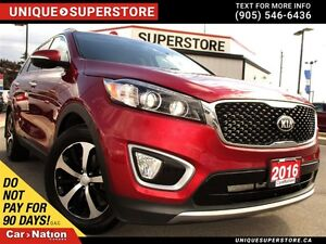 2016 Kia Sorento 3.3L EX | 7 PASSENGER | AWD | LEATHER | CAMERA