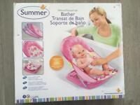 Deluxe Baby Bather-Pink-Summer