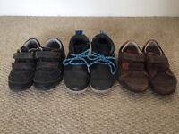 Boys toddler shoes Clarks size 6.5G