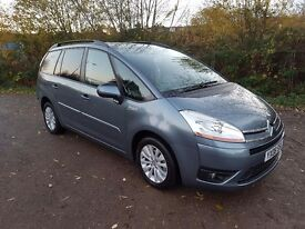 CITROËN GRAND PICASSO 1.6 HDI VTR + 7 SEATER 2008 MANUAL MOT JULY 2017 S/HISTORY GREAT FAMILY CAR