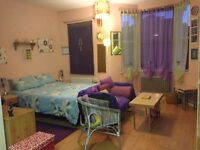 Big & bright studio available for short term in East Dulwich