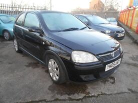 vauxhall corsa 1.2 sxi 3dr 2005 model,full mot on purchase,ideal first time buyer