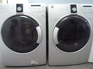 38- KENMORE AST Laveuse Sécheuse Frontales Washer Dryer