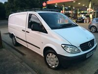 Diesel 2005 Mercedes Vito Van 6 Speed Long Mot Central Locking 2xRemote Keys Cruise Roof Rack