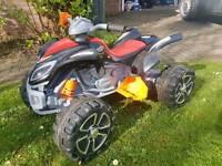 Kids electric quad bike (rocket raptor 12v battery)