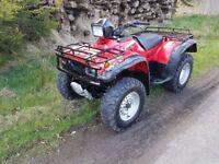 Honda 450 4x4 farm quad