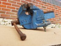 Vintage Engineers Record Bench Vice No1
